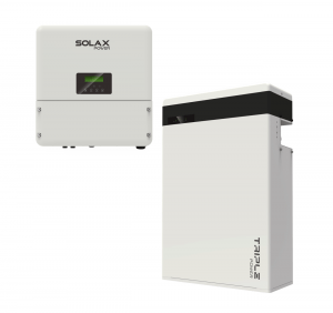 Omvormer en thuisbatterij