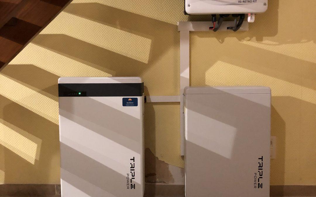 Installatie van een thuisbatterij met noodstroom in Bredene