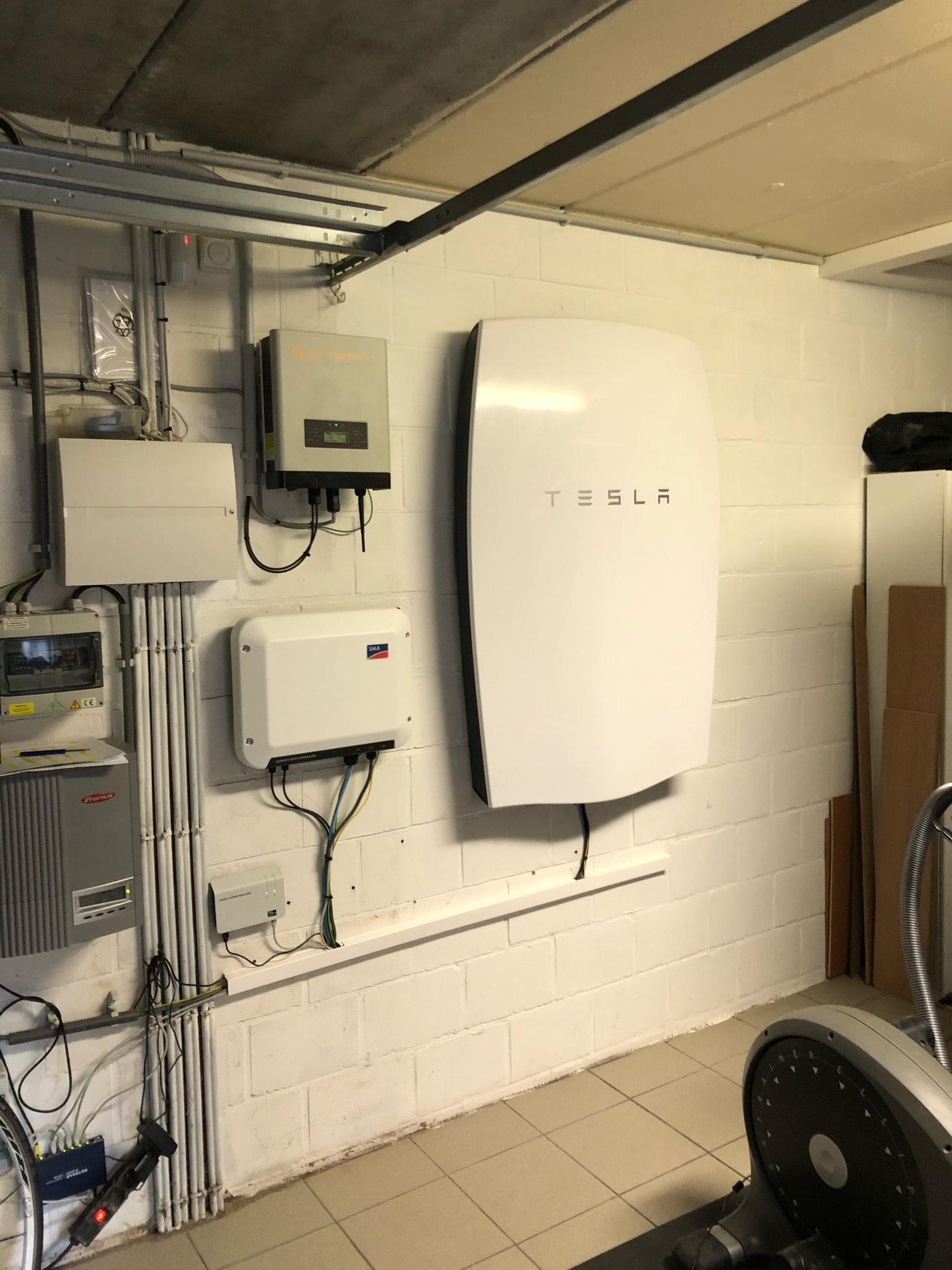Thuisbatterij Tesla Sint-Katelijne-Waver