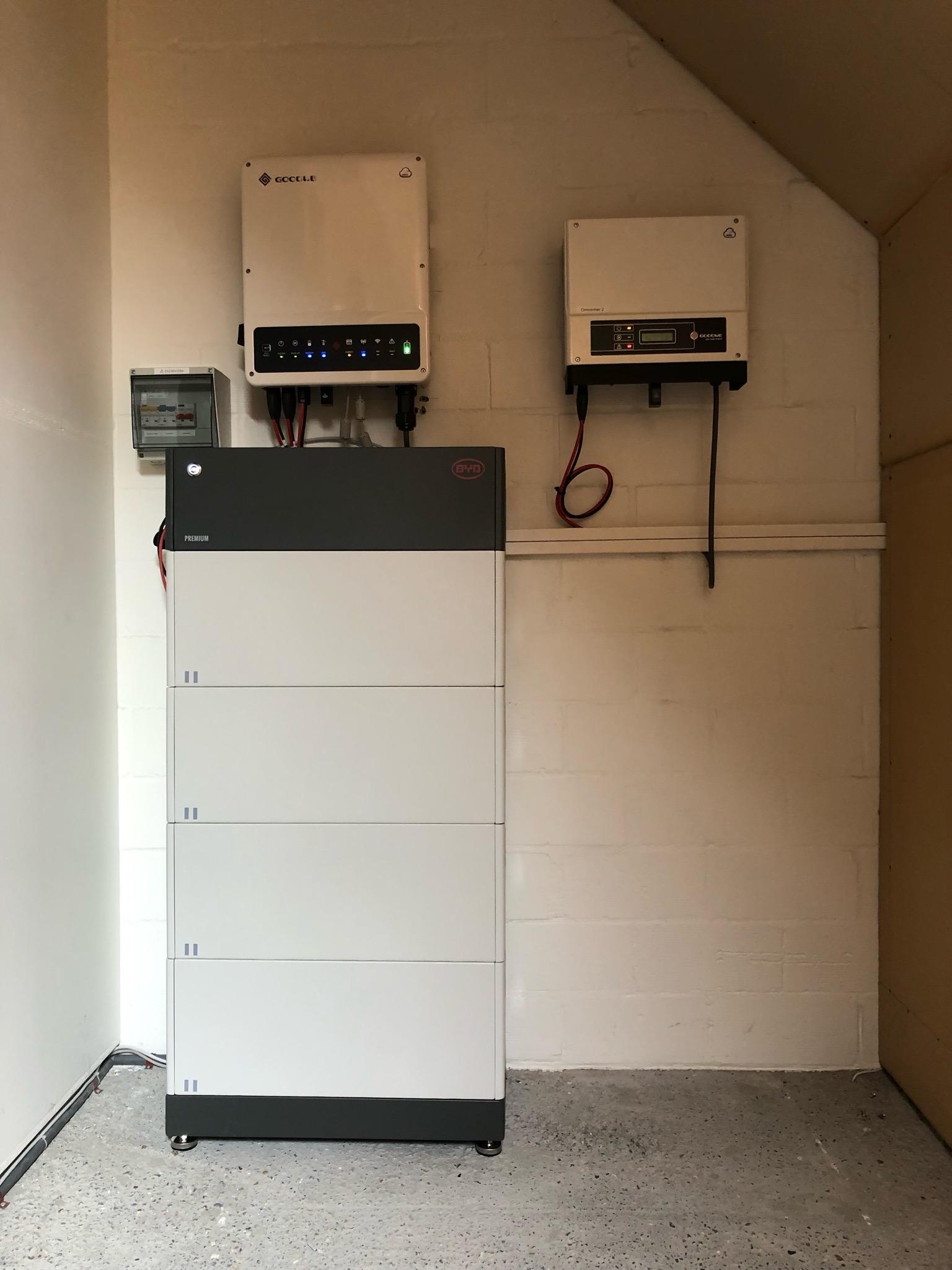 BYD thuisbatterij Oostakker